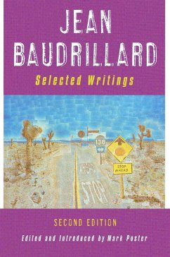 Jean Baudrillard: Selected Writings: Second Edition - Baudrillard, Jean