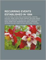 Recurring Events Established In 1994 - Books Llc
