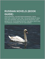 Russian Novels - Books Llc
