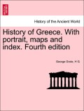 Grote, George;G., H.: History of Greece. With portrait, maps and index. Fourth edition. VOL. VIII