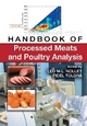 Handbook of Processed Meats and Poultry Analysis - Leo M. L. Nollet; Fidel Toldra