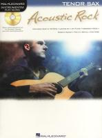 Acoustic Rock: Instrumental Play-Along for Tenor Sax