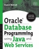 Oracle Database Programming Using Java and Web Services - Kaussi Mensah