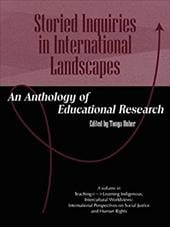 Storied Inquiries in International Landscapes: An Anthology of Educational Research (PB) - Huber, Tonya