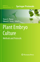 Plant Embryo Culture - Trevor A. Thorpe; Edward C. Yeung
