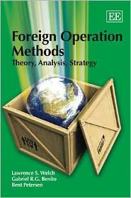Foreign Operation Methods: Theory, Analysis, Strategy