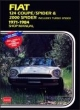 Fiat 124 Coupe/Spider and 2000 Spider 1971-84 Owner's Workshop Manual - R M Clarke