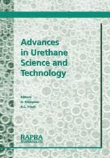 Advances in Urethane Science and Technology - Klempner, D.