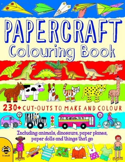 Papercraft Colouring Book - Clare Beaton