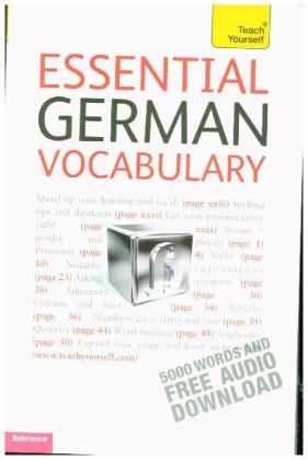 Teach Yourself: Teach Yourself Essential German Vocabulary - 5000 Words and Free Audio Download