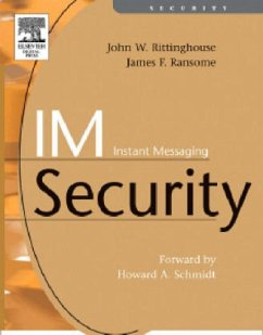 IM Instant Messaging Security - Ransome, James Rittinghouse, John