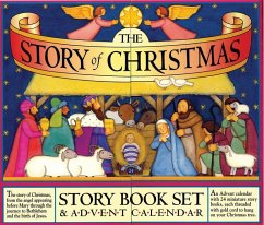 The Story of Christmas Story Book Set & Advent Calendar [With 24 Miniature Story Books] - Sprecher: Packard, Mary / Illustrator: Croll, Carolyn
