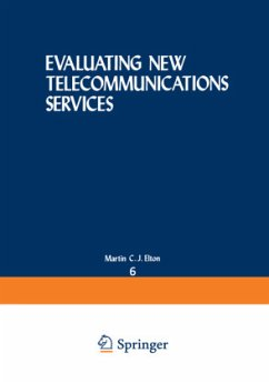 EVALUATING NEW TELECOMMUNICATIONS SERVI - ELTON MARTIN C.J.