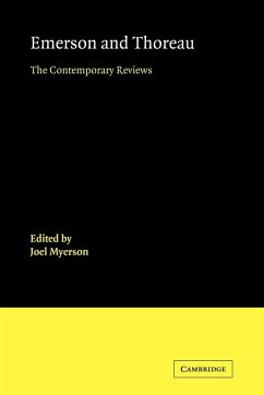 Emerson and Thoreau: The Contemporary Reviews - Herausgeber: Myerson, Joel