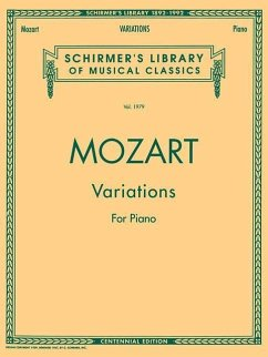 Mozart Variations for Piano - Komponist: Mozart, Wolfgang Amadeus