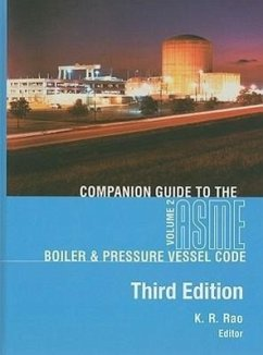Companion Guide to the ASME Boiler & Pressure Vessel Code, Volume 2 - Herausgeber: Rao, K. R.