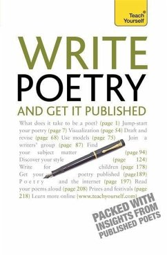 Write Poetry and Get it Published: Teach Yourself - Sweeney, Matthew Williams, John Hartley