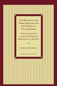 The Treatise of the Three Impostors and the Problem of Enlightenment