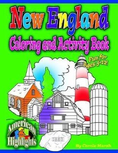 New England Coloring & Activity Book - Marsh, Carole