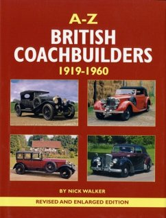 A-Z of British Coachbuilders 1919-1960 - Walker, Nick