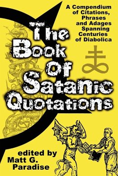 The Book of Satanic Quotations - Paradise, Matt