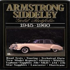 Armstrong Siddeley Gold Portfolio, 1945-60