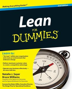 Lean For Dummies - Sayer, Natalie J.; Williams, Bruce