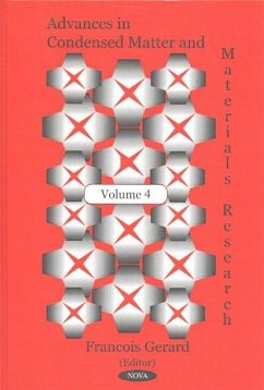 Advances in Condensed Matter and Materials Research