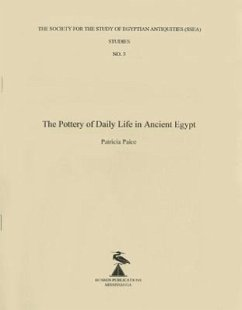 The Pottery of Daily Life in Ancient Egypt - Paice, Patricia