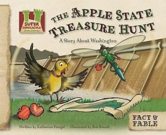 Apple State Treasure Hunt: A Story about Washington - Hengel, Katherine