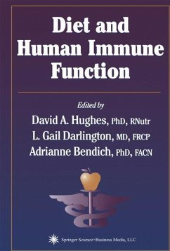 Diet and Human Immune Function - Herausgegeben von Hughes, David A. Darlington, L. Gail Bendich, Adrianne