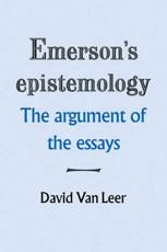 Emerson's Epistemology - David Van Leer
