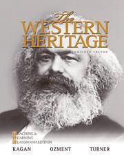 The Western Heritage: Combined Volume - Donald M. Kagan, Steven E. Ozment, Frank M. Turner