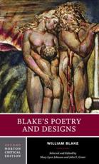 Blake's Poetry and Designs - William Blake