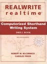 Realwrite and Realtime Computerised Shorthand Writing: Drillbook - Robert McCormick