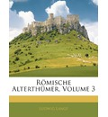 Romische Alterthumer, Dritter Band - Ludwig Lange