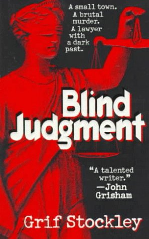 Blind Judgment: A Gideon Page Novel - Grif Stockley