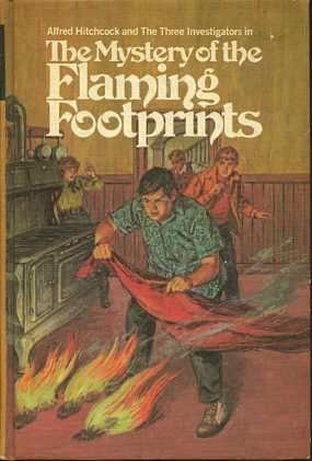 Alfred Hitchcock and The Three Investigators in The Mystery of the Flaming Footprints - M.V. Carey