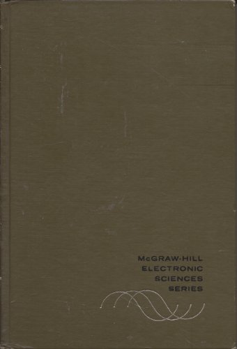 Information Theory and Coding (Electronic Science) - Norman Abramson