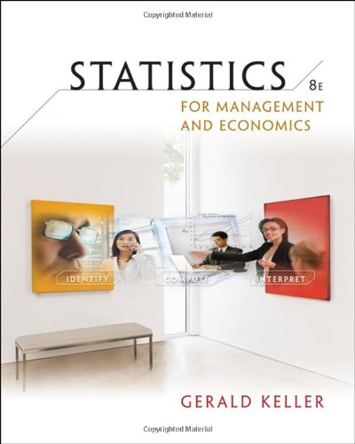 Statistics for Management and Economics (with CD-ROM) (Available Titles Aplia) - Gerald Keller