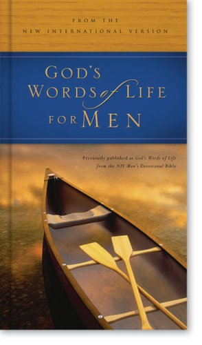 God's Words of Life for Men: from the NIV Men's Devotional Bible Deluxe - Zondervan