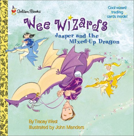 Jasper and the Mixed up Dragon (Wee Wizards) - Tracey West