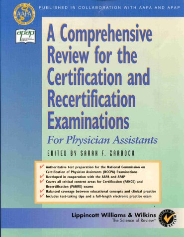 A Comprehensive Review for the Certification and Recertification Examinations (Book with CD-ROM) - Sarah F. Zarbock; Rebecca Lovell Scott; Zarbock