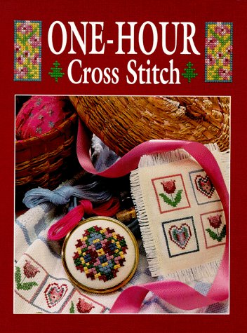 One-Hour Cross Stitch - Sunset Books; Symbol of Excellence