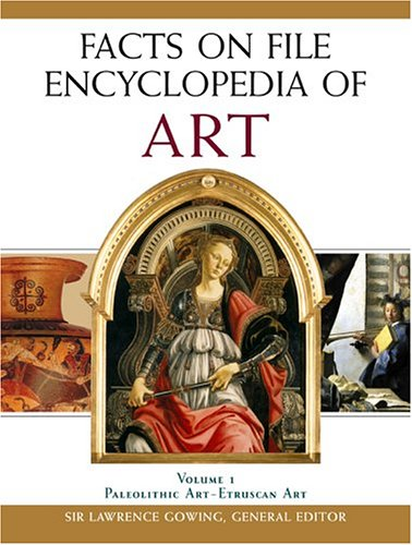 Facts On File Encyclopedia Of  Art ( 5 vol. set) - Lawrence Gowing
