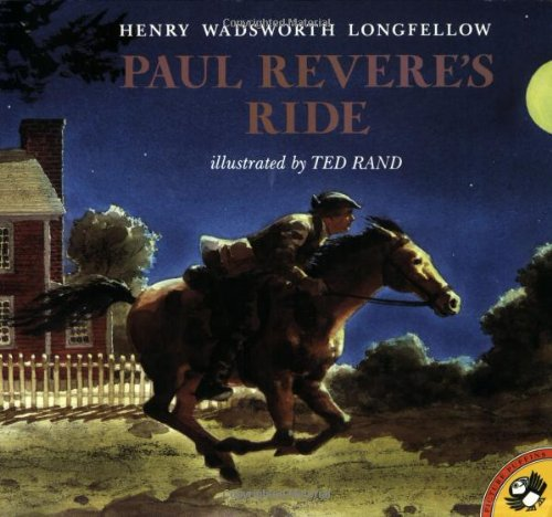 Paul Revere's Ride - Henry Wadsworth Longfellow