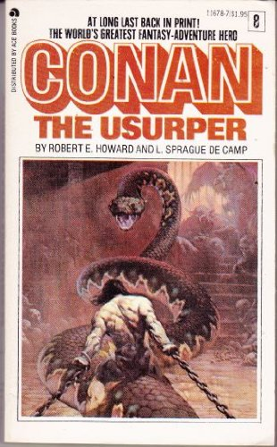 Conan the Usurper (Conan #8) - Robert E. Howard, L. Sprague de Camp