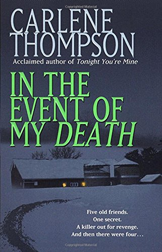 In the Event of My Death - Carlene Thompson