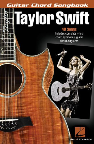 Taylor Swift - Guitar Chord Songbook (Guitar Chord Songbooks) - Taylor Swift