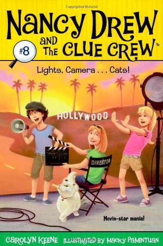 Lights, Camera . . . Cats! (Nancy Drew and the Clue Crew #8) - Carolyn Keene